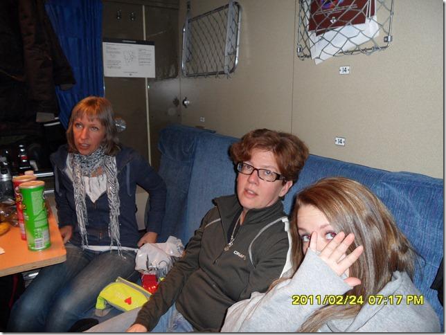 Anna, Britta och Elin