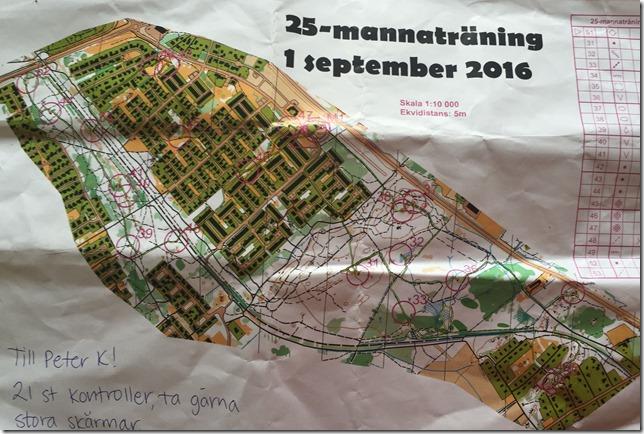 25 manna träning 1 sep 2016